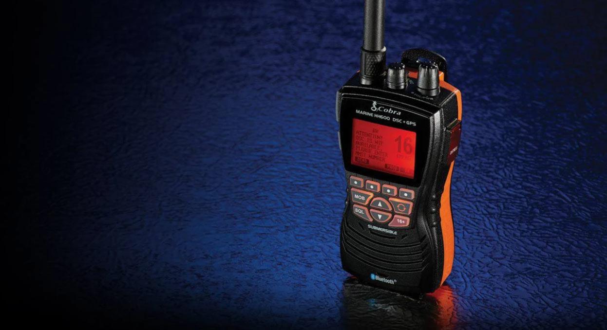 Gamme COBRA VHF Portables