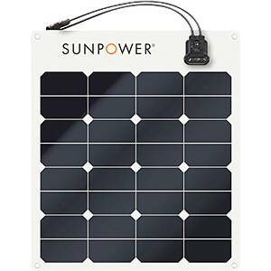 Panneau solaire semi-flexible Back contact 50W
