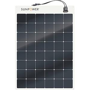 Panneau solaire semi-flexible Back contact 170W